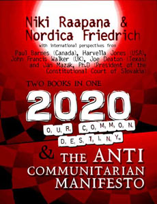The secret truth exposing communitarianism they have just this year published a new book entitled 2020 our common destiny and the anti communatarian manifesto order fandeluxe Image collections